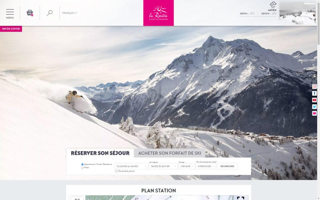Site Internet de LA ROSIERE